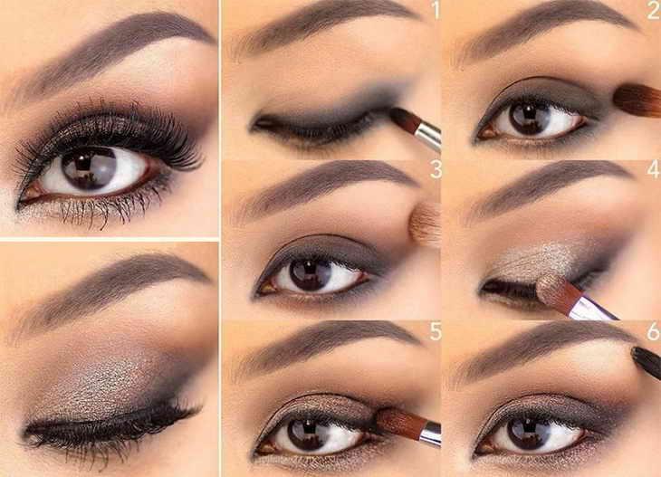 голливудский макияж глаза