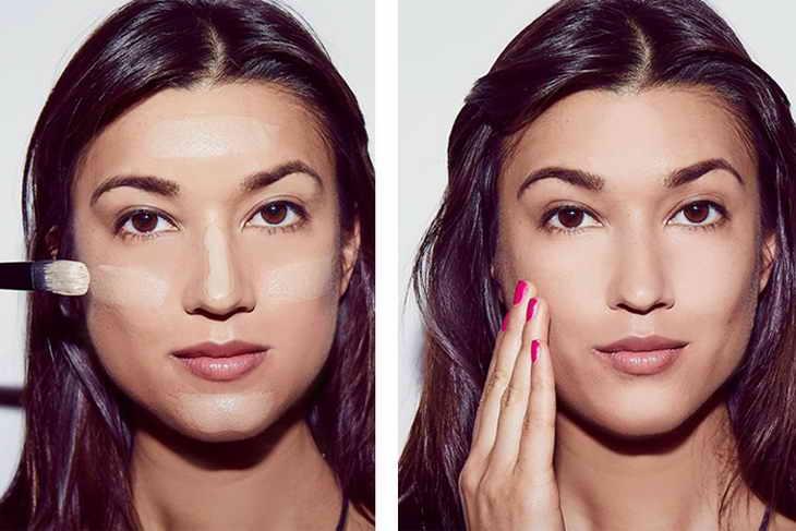 голливудский макияж техника
