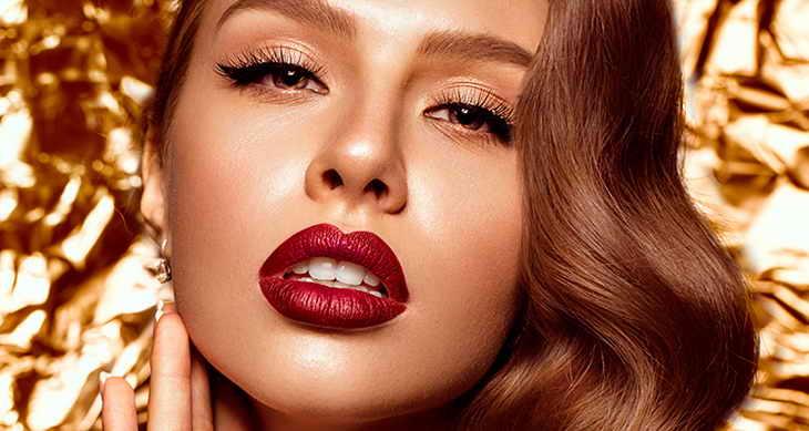 голливудский макияж для карих глаз
