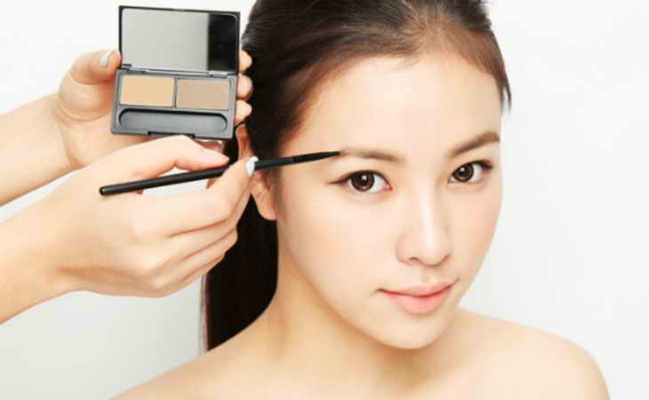 корейский макияж на русских девушках
