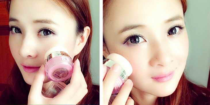 румяна в корейском макияже