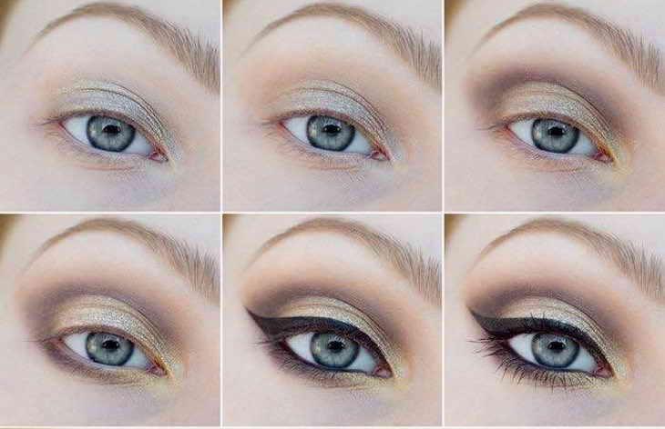 макияж для фотосессии сероглазкам