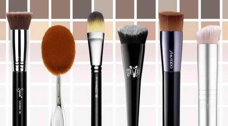 макияж для фотосессии кисти