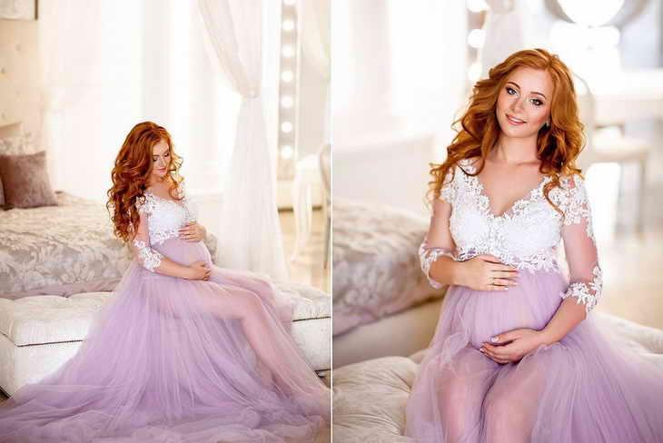 макияж для фотосессии для беременных