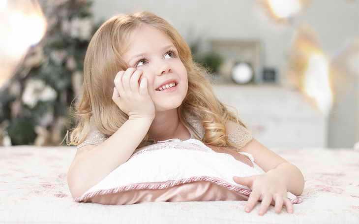 макияж для фотосессии детям