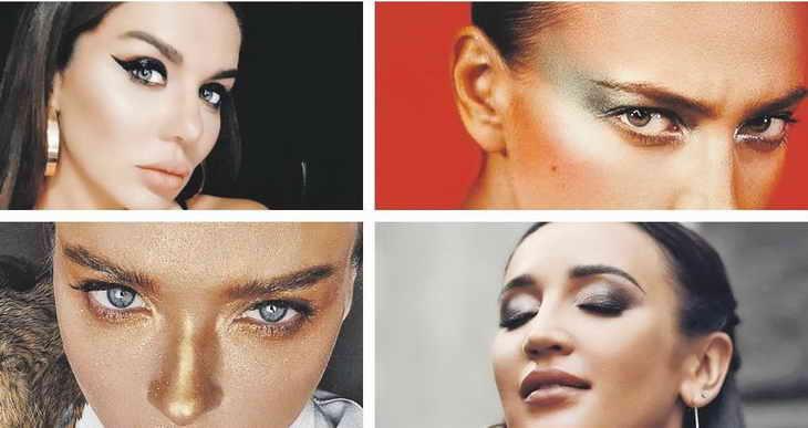 макияж для фотосессии в студии