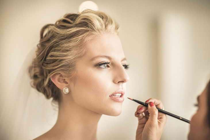 макияж прическа фотосессия