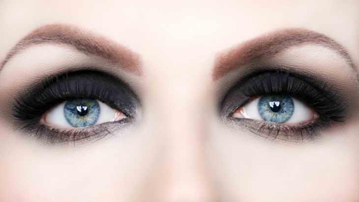 макияж смоки айс для широко посаженных глаз