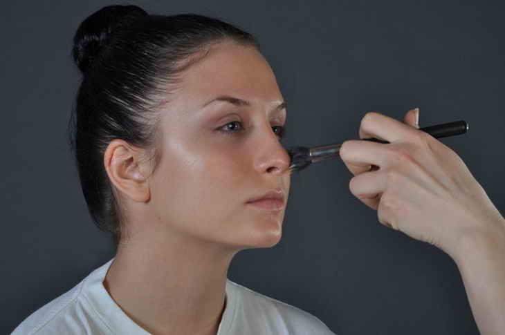 макияж смоки айс для зеленых