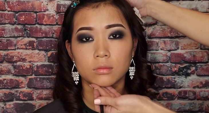 макияж смоки айс для азиатского типа глаз
