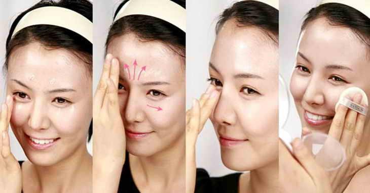 нежный макияж