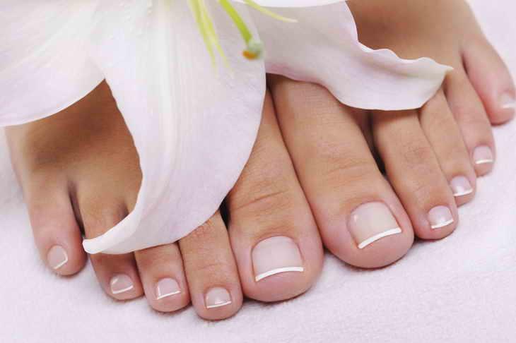 Советы по уходу за ступнями и ногтевыми пластинами