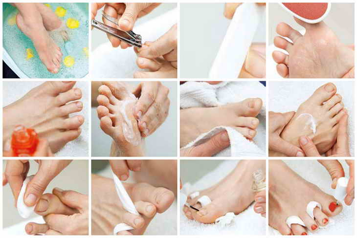 Правила ухода за ногтями на ногах в домашних условиях