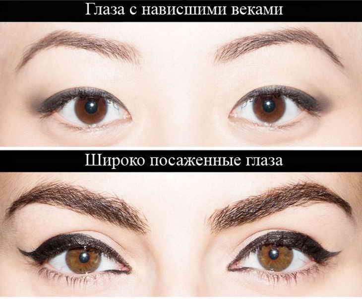 стрелки на маленьких глазах