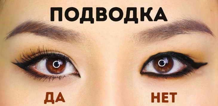 стрелки на глазах ошибки
