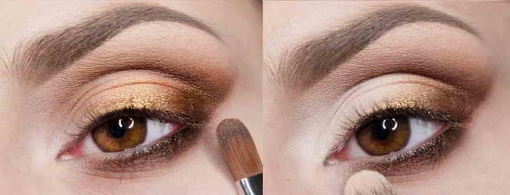 вечерний макияж кариглазым