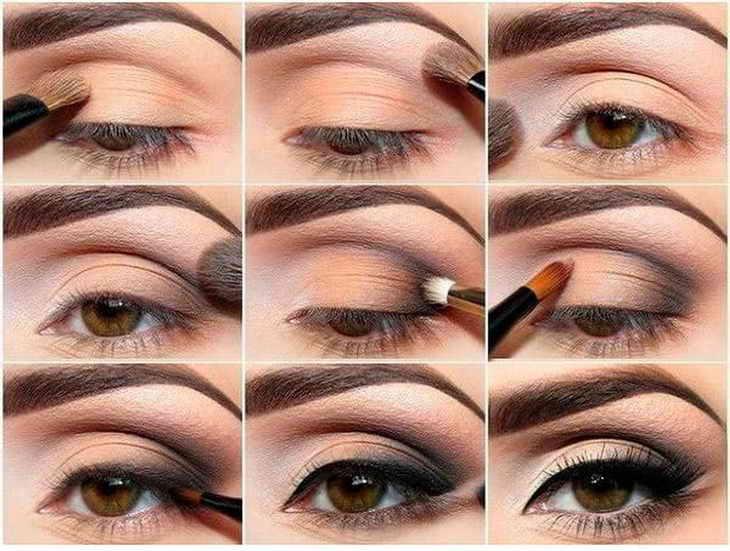 Восточный макияж с акцентом на глазах