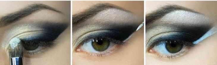 восточный макияж зеленоглазым