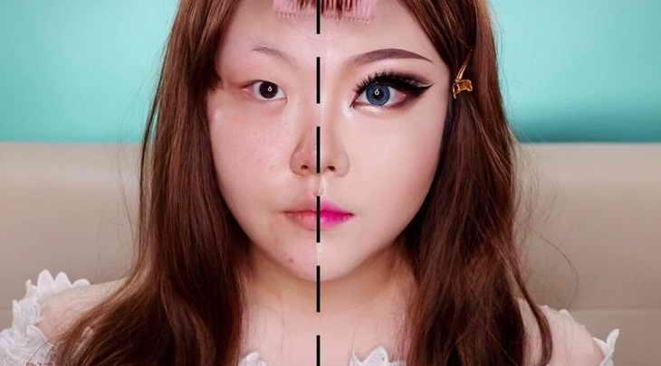 восточный макияж для разных форм глаз