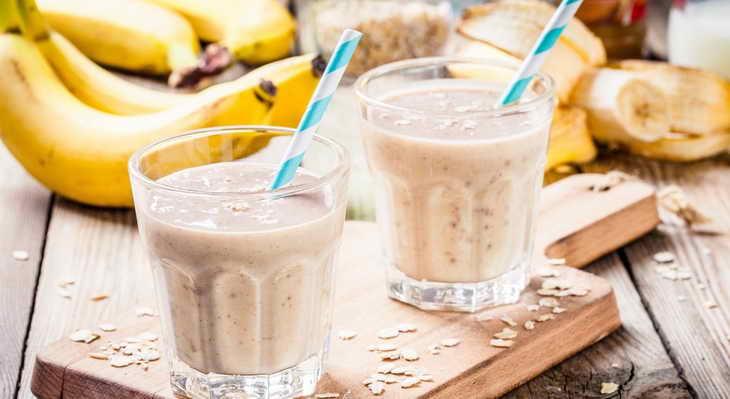 диета на банановом смузи