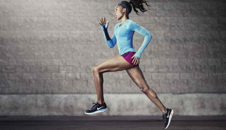 бег для похудения спортивный
