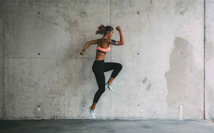 бег для похудения на месте