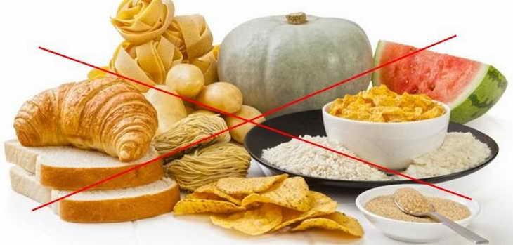 безуглеводная диета что нельзя кушать