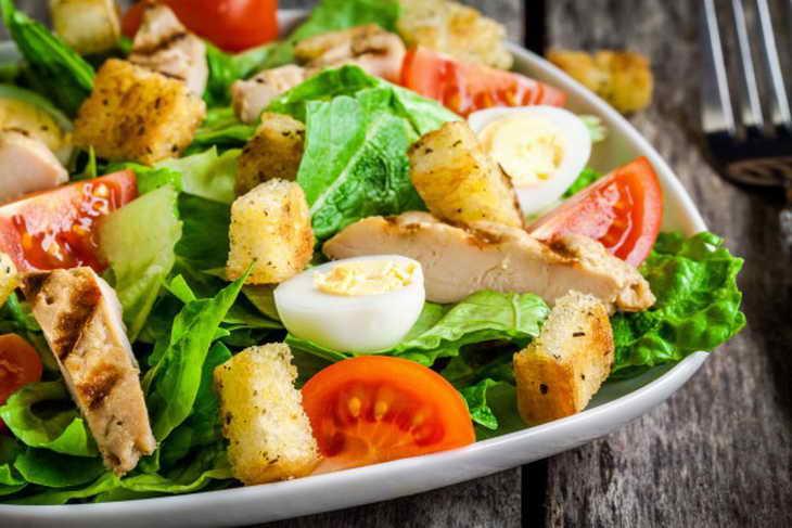 безуглеводная диета салат