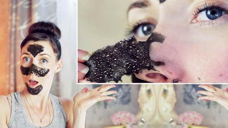 желатиновая маска для лица от черных точек