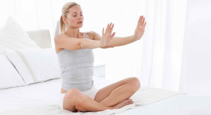 Упражнения после еды для похудения