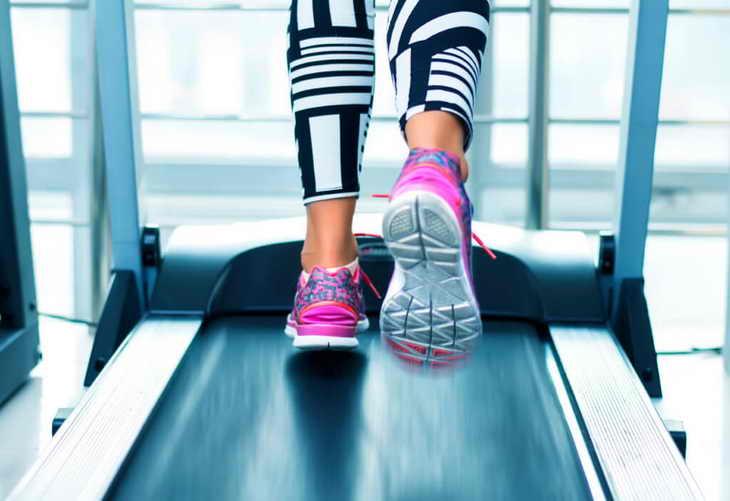 ходьба для похудения на беговой дорожке