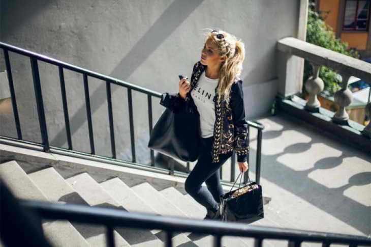 ходьба для похудения по лестнице