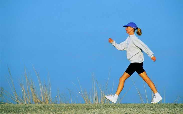 ходьба для похудения быстрая