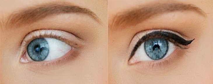 как красить глаза тенями видео