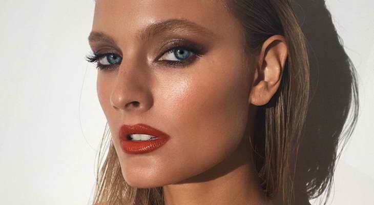 Как красить глаза коричневыми тенями