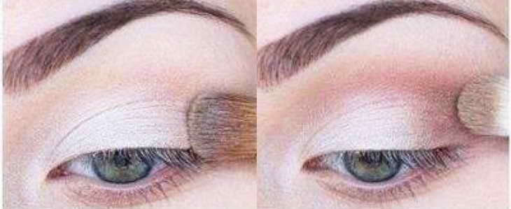 Как красится при разной форме глаз