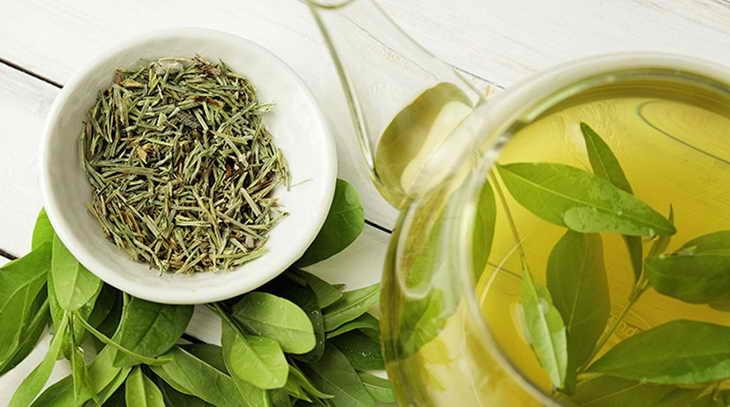 Лосьон из зеленого чая от морщин