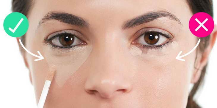 как увеличить глаза с помощью макияжа видео