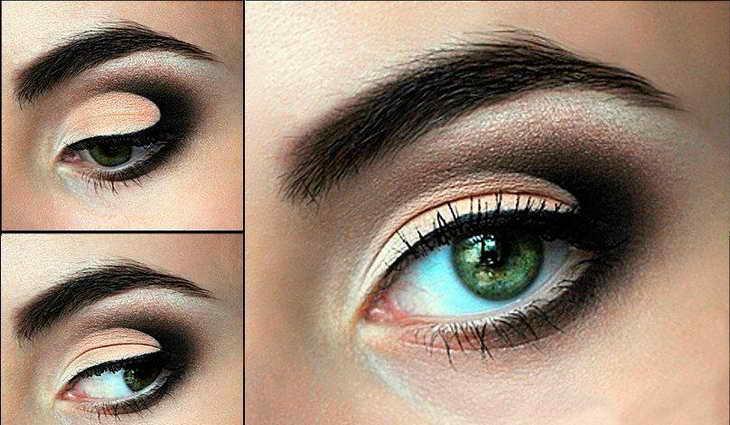 как увеличить глаза с помощью макияжа яркий макияж
