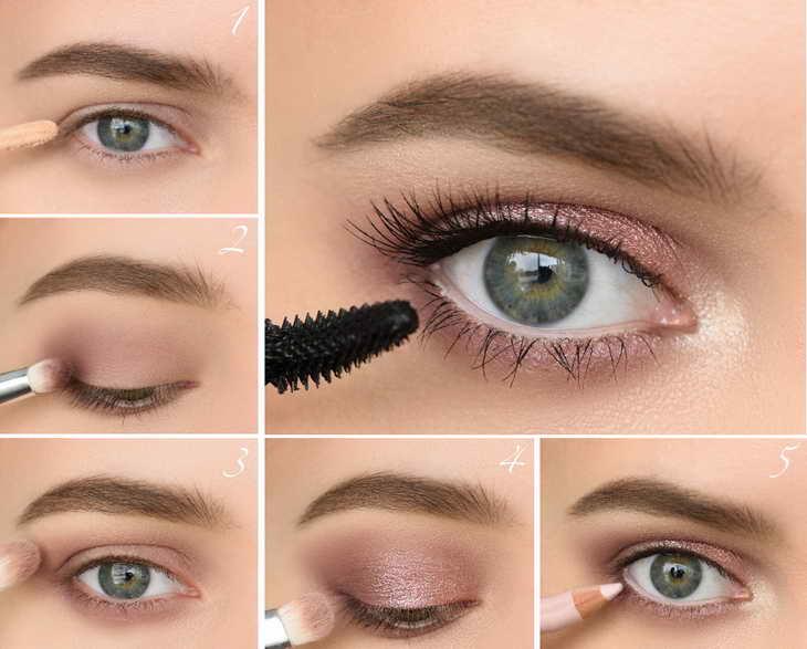 как увеличить глаза с помощью макияжа дневной макияж