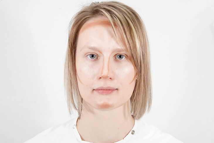 повседневный макияж для блондинок