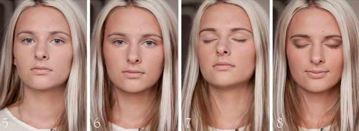 натуральный макияж для блондинок
