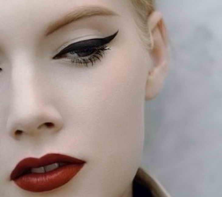 классический макияж для блондинок