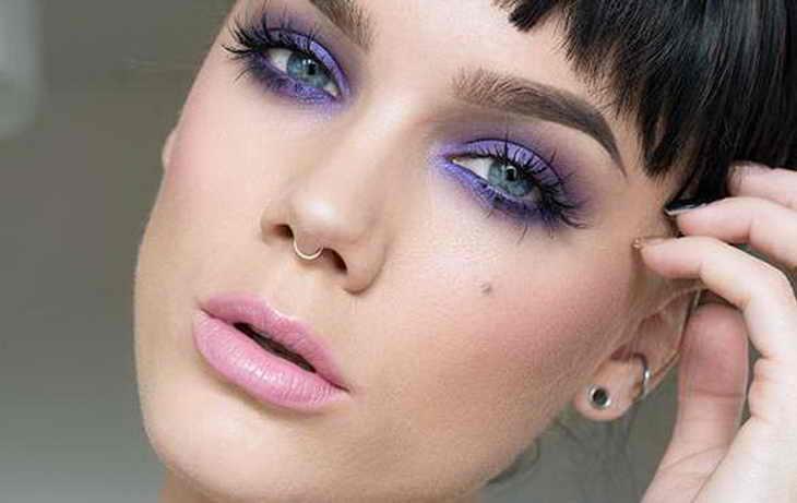 Макияж глаз для брюнеток