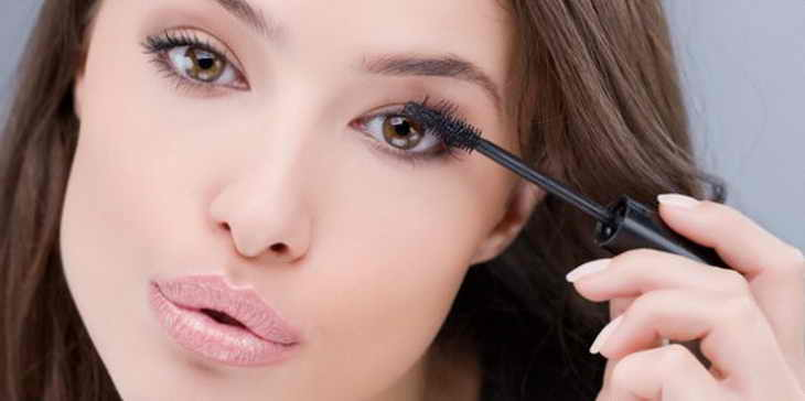 легкий макияж для брюнеток