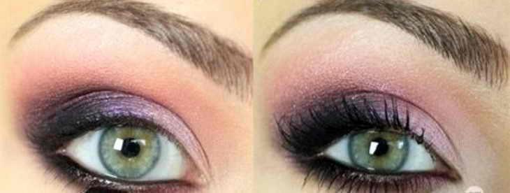 макияж для брюнеток зеленые глаза