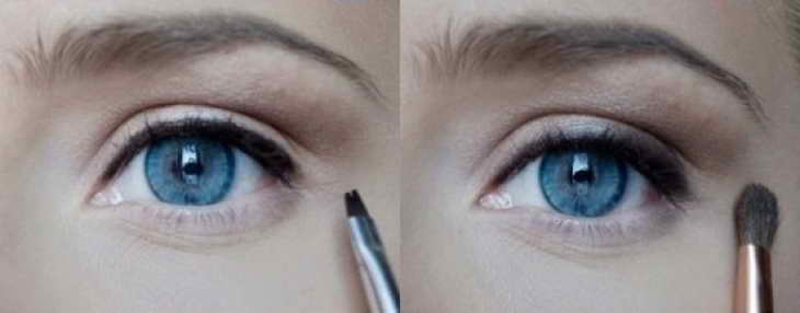 макияж для глубоко посаженных глаз на каждый день