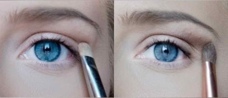 макияж для глубоко посаженных глаз дневной