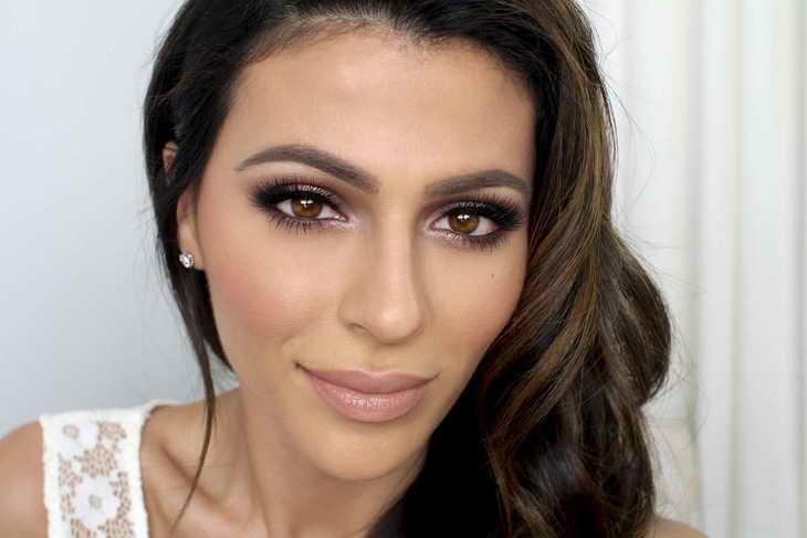 макияж для карих глаз на каждый день