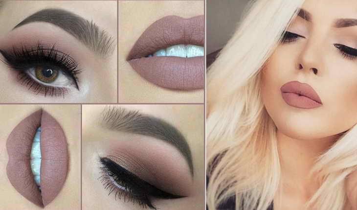 макияж для цветотипа осень с карими глазами